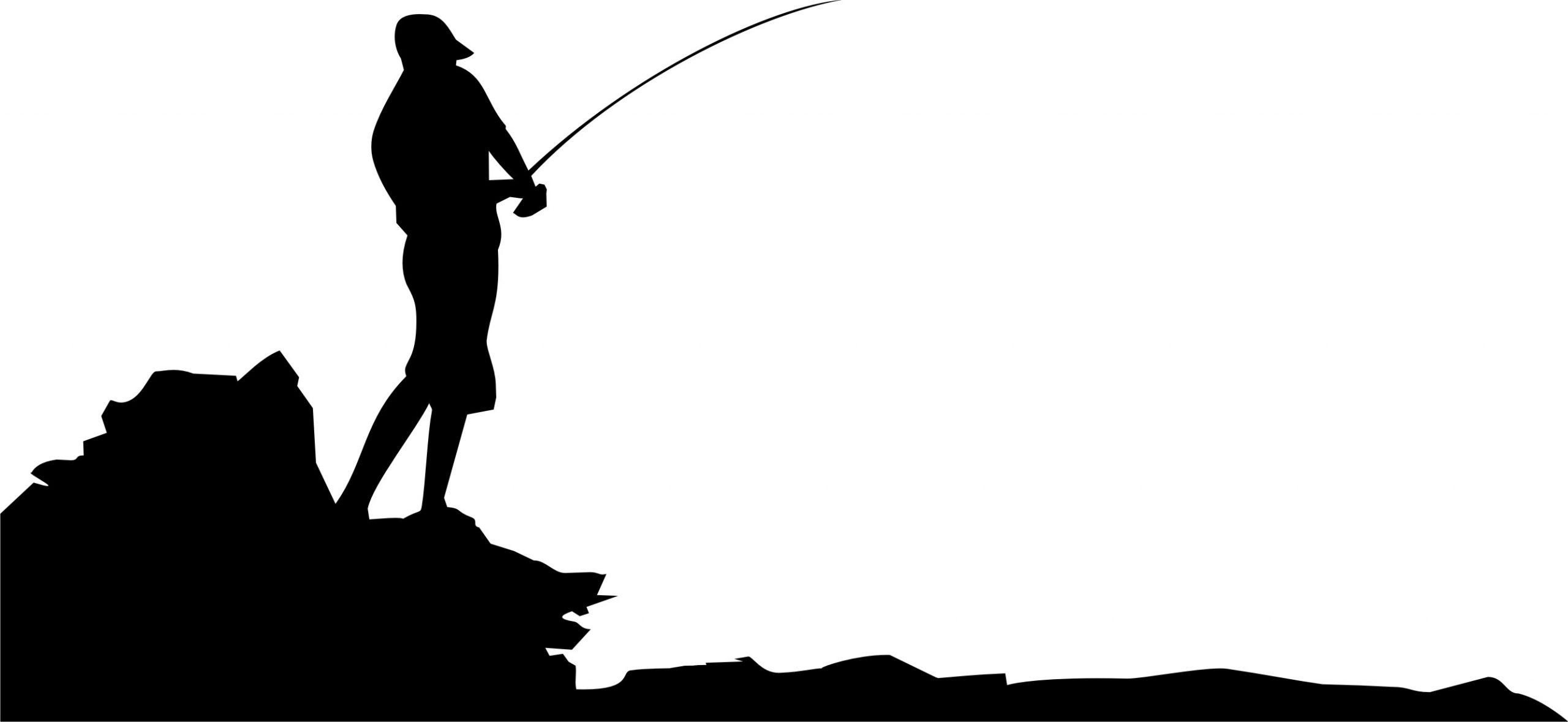 Silhueta Pescador 1